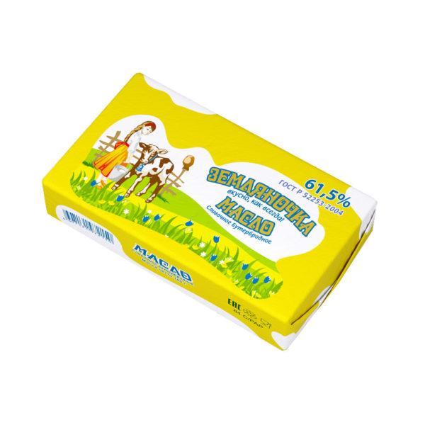 Бутербродное сливочное масло, 61.5%