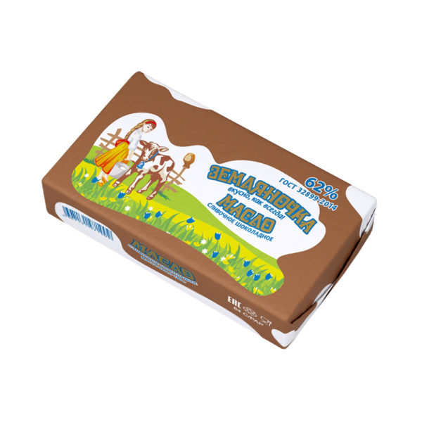 Шоколадное сливочное масло, 62%