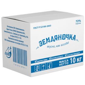 Земляночка растительно-жировой спред, 72%