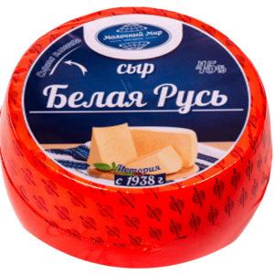Белая Русь полутвердый сыр