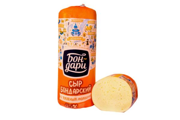 Сыр Бондарский с топлёным молоком