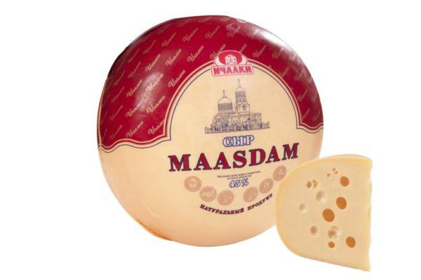 Мааsdam полутвердый сыр