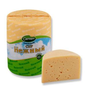 Нежный сыр полутвердый ТМ «Сармич»