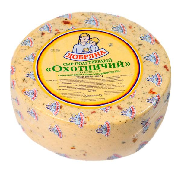 Сыр Охотничий со специями
