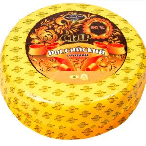 Российский особый полутвердый сыр