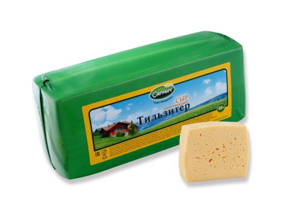 Тильзитер полутвердый сыр